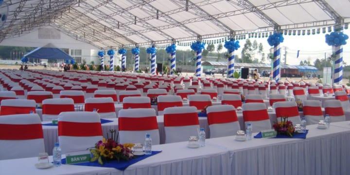 Công ty cho thuê bàn ghế sự kiện tại Kiên Giang