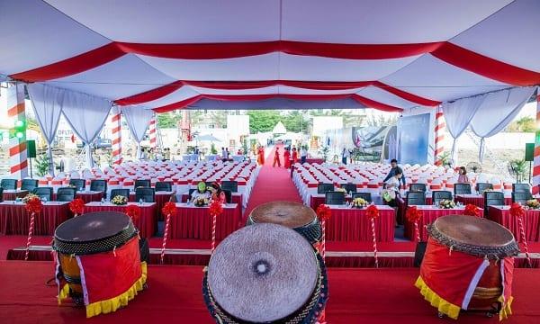 Công ty tổ chức lễ khởi công, động thổ giá rẻ tại Tiền Giang