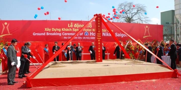 Động thổ | Công ty tổ chức lễ khởi công, động thổ tại Sóc Trăng