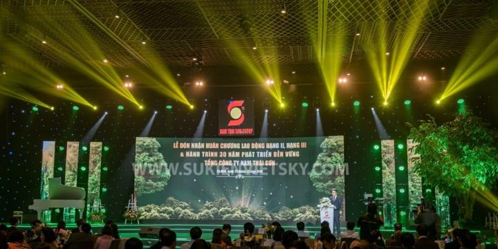 Dịch vụ cho thuê sân khấu giá rẻ tại Bình Phước