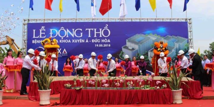 Khởi công | Công ty tổ chức lễ khởi công, động thổ tại Tiền Giang